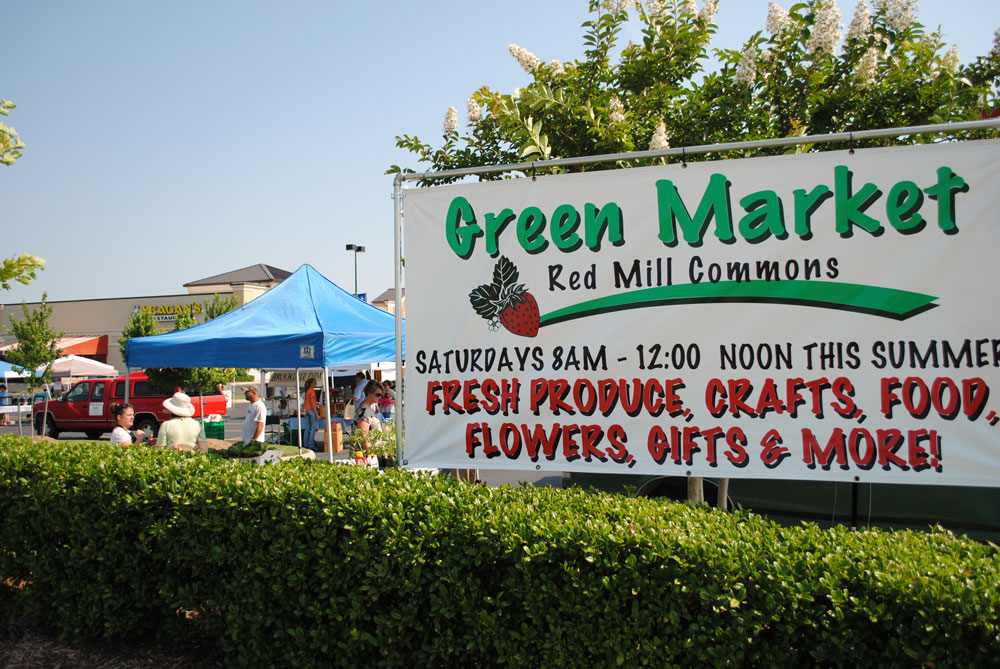 Green market at red mill commons red mill commons for Fish market virginia beach